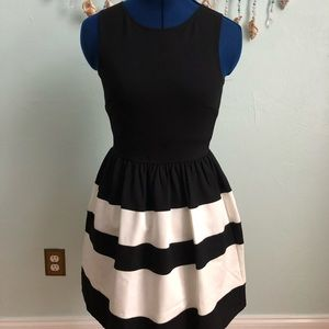 Sweet striped summer dress